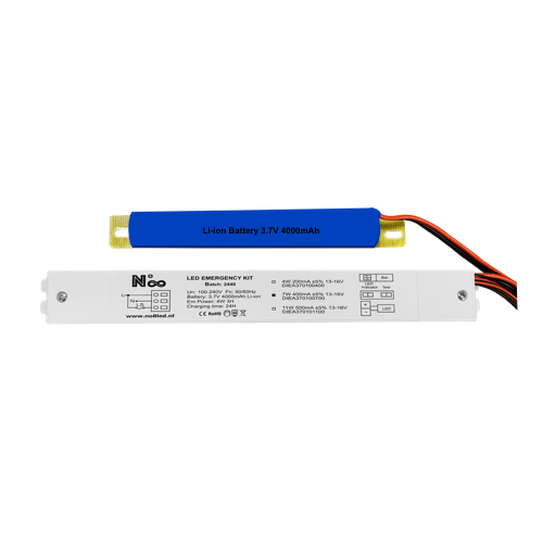 LED Driver Inverter with External Battery