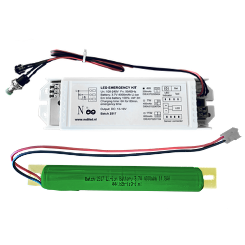 LED Driver-Inverter with External Battery